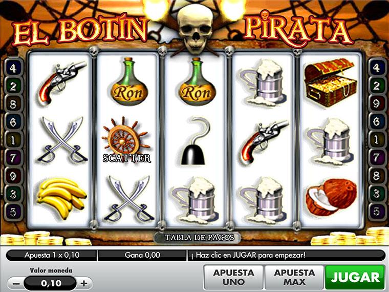 ¡El Botín Pirata en acción!