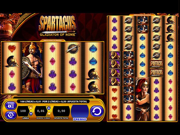 ¡Spartacus en acción!