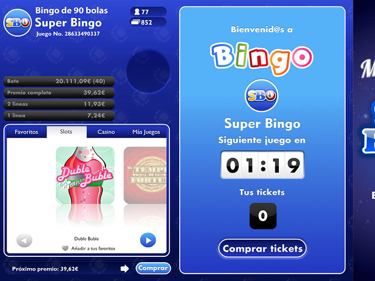 ¡Super Bingo en acción!