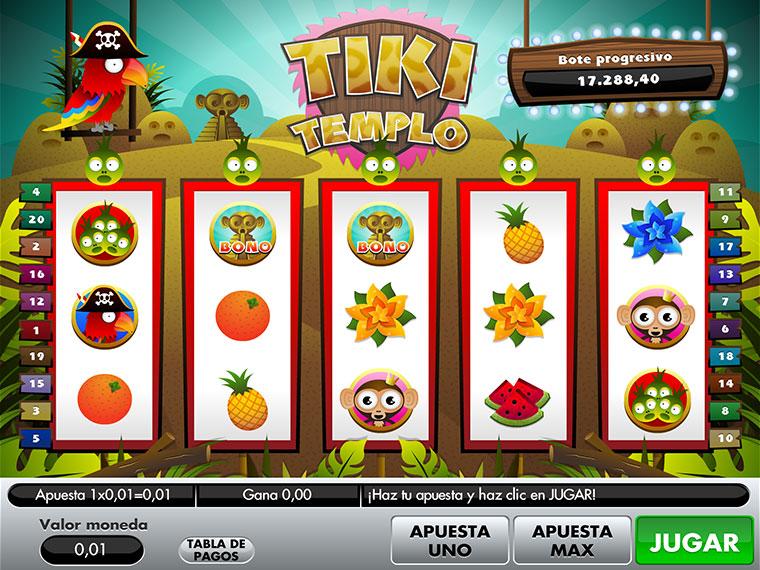 ¡Tiki Templo en acción!