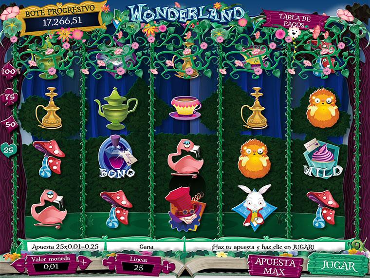 ¡Wonderland en acción!